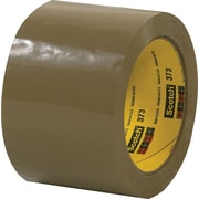 "Scotch® #373 Hot Melt Packing Tape, 3""x55 yds., Tan"