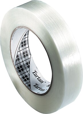 Scotch® Tartan #8934 Utility Grade Filament Tape, 3/8