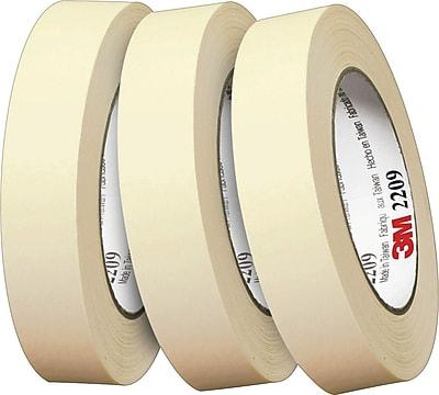 """Scotch® #2209 Paper Masking Tape, 3/4""""x60 yds., 48/Case"""
