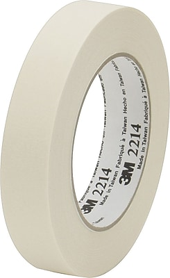 Universal General-Purpose Masking Tape, 18 mm x 54.8 m, Beige, 6/Pack (UNV51334) UNV51334