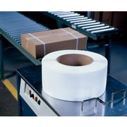 "Pac Strapping Products Inc Polypropylene Machine-Grade Strapping, 154800""x 0.37"", White, 300 lb. break strength"