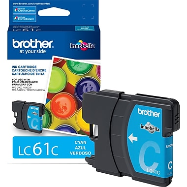 Brother – Cartouche d'encre cyan LC61 (LC61CS)