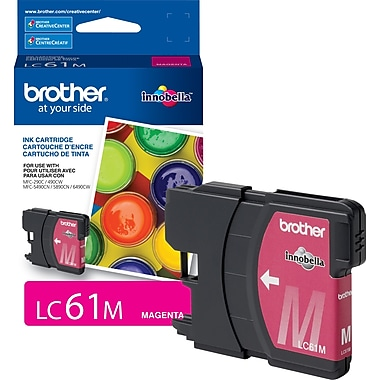 Brother LC61 Magenta Ink Cartridge (LC61MS)