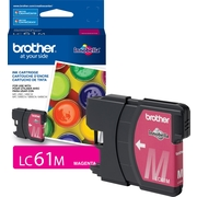 Brother Genuine LC61M Magenta Original Ink Cartridge