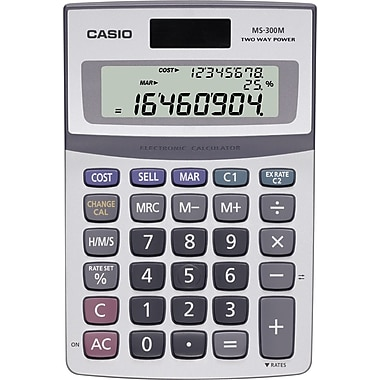 Casio® MS-300M 8-Digit Display Calculator