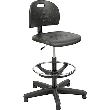 Safco® Soft Tough Workbench Chair, Black