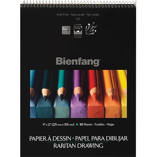 "Bienfang Drawing Paper 9"" x 12"""
