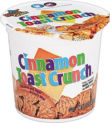 General Mills® Breakfast Cereals, Cinnamon Toast Crunch®, 2-oz., 6 Cups/Box