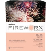 "See All Fireworx Color Copy/Laser Paper, LETTER-size, Jammin' Salmon, 20 lbs., 8 1/2"" x 11"", 500 Sheets/Ream"