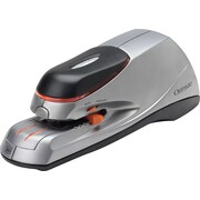 Swingline® Optima® 20 Electric Automatic Desktop Stapler, Auto/Manual, 20 Sheet Capacity, Silver