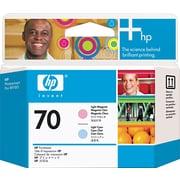 HP – Têtes d'impression d'encres magenta et cyan pâles 70 (C9405A)