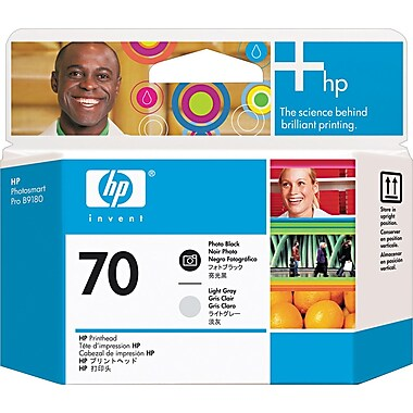 HP 70 Photo Black and Light Grey Printhead (C9407A)
