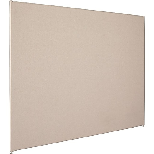 Basyx By Hon Verse Series 60 Hx72 W Privacy Panel Gray Bsx P6072gygy Staples