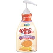 Nestlé® Coffee-mate® Liquid Coffee Creamer Pump Bottles, 1.5 Liter