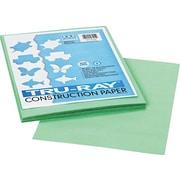 "Tru-Ray® Construction Paper 9"" x 12"" Light Green; 50 sht (PAC103015)"
