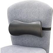 Safco® Memory Foam Backrests Smooth Surface, Black