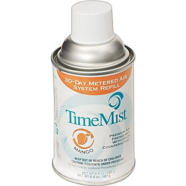 TimeMist® Metered Fragrance Dispenser Refills, Native Mango, 5.3 oz., 12/Case
