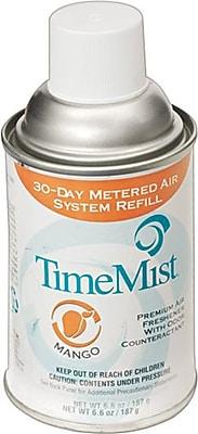 TimeMist® Metered Fragrance Dispenser Refills, Native Mango, 5.3 oz., 12/Case