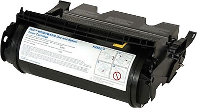Dell K2885 Black Toner Cartridge (X2046), Use and Return