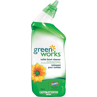 Green Works® Toilet Bowl Cleaner, 709 mL (CL01065)