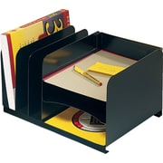 "SteelMaster Steel Horizontal/Vertical Organizer, 8 1/8"" H x 15"" W x 11"" D, 3 Horizontal/3 Vertical Compartments (26420HV004)"