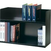 STEELMASTER® Two-Tier Book Rack, 2 Shelves, Black (26423BRBK)