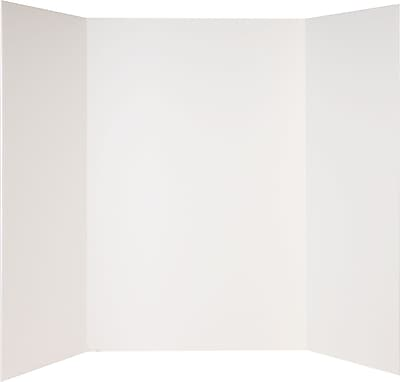 Staples® White Foam Display Board, 36