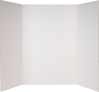 Staples® White Corrugated Display Board
