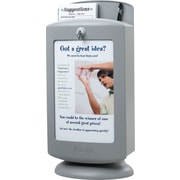 Safco® Grey Plastic Customizable Suggestion Box