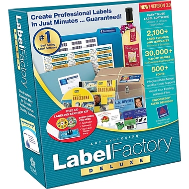 Label Factory Deluxe 3.0 [Boxed]