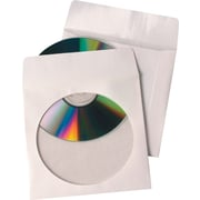 Quality Park – Enveloppes pour CD/DVD avec fenêtre, papier à l'extérieur/po