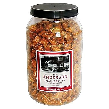 Anderson Peanut Butter Filled Pretzels, 2-3/4 lbs.