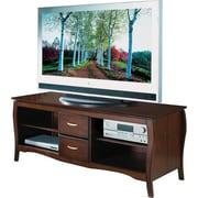 "OSP Designs™ 60"" Flat Screen TV Stand, Walnut"