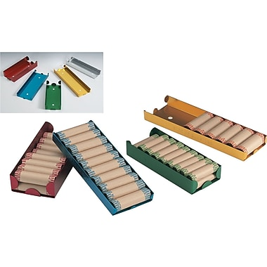 MMF Industries™ Color Coded Coin Trays