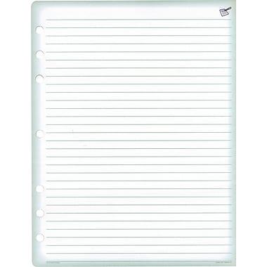 Day-Timer® – Recharges pour registre, format folio, 8 1/2 po x 11 po, bilingue, bloc/24 feuilles, paq./2