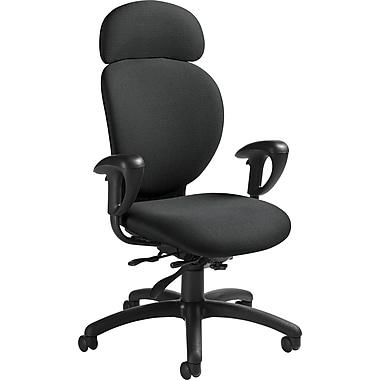 Global® Azeo High-Back Multi-Tilt Chair, Stone