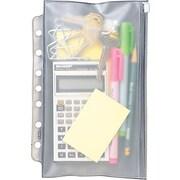 """Day-Timer® Desk Size Vinyl Zip Pouch, 5-1/2"""" x 8-1/2"""""""