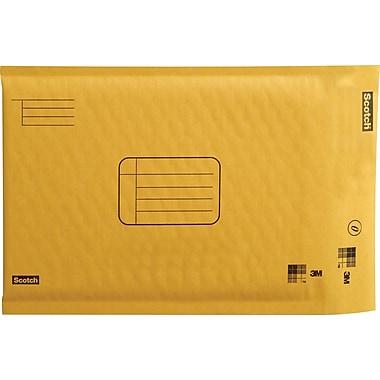 Scotch™ - Enveloppes rembourrées Kraft pour l'expédition, 6 po x 9 po, bte/4