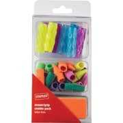Staples® Assorted Eraser and Grip Combo Pack, 35/Pack