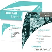 "Domtar® EarthChoice™ Copy Paper, Letter Size, 92/104+ US/Euro Brightness, 20 Lb., 8 1/2""H x 11""W, 500 Sheets/RM"