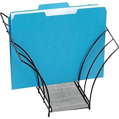 Rolodex™ Metal Mesh Butterfly Document Sorter, Black