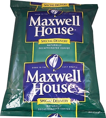 Maxwell House® Special Delivery Ground Coffee, Decaffeinated, 1.3 oz., 42 Packets