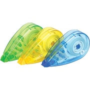 Staples® Mini Correction Tape, 3/Pack