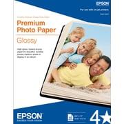 """Epson® Premium Photo Paper 8 1/2"""" x 11""""hite 50/pack (S041667)"""