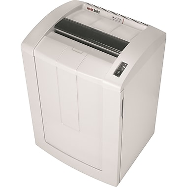 HSM® 390.3 27-Sheet Cross-Cut Shredder