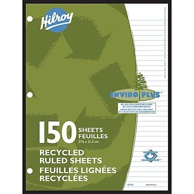 Hilroy - Feuilles de papier recyclé