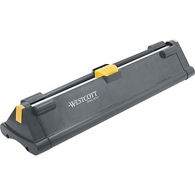 Westcott - Coupe-papier rotatif pliable avec lames en titane