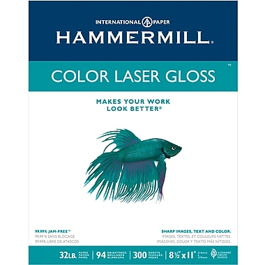 Hammermill Colour Laser Glossy Paper, 8-1/2