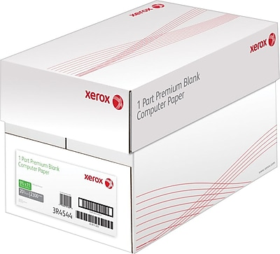 Xerox® Continuous Form Blank Computer Paper, 9 1/2