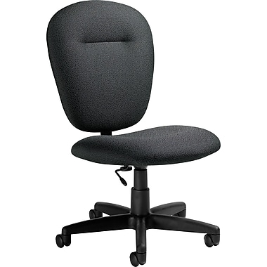 Global® Mid-Back Task Chair, Graphite Grey